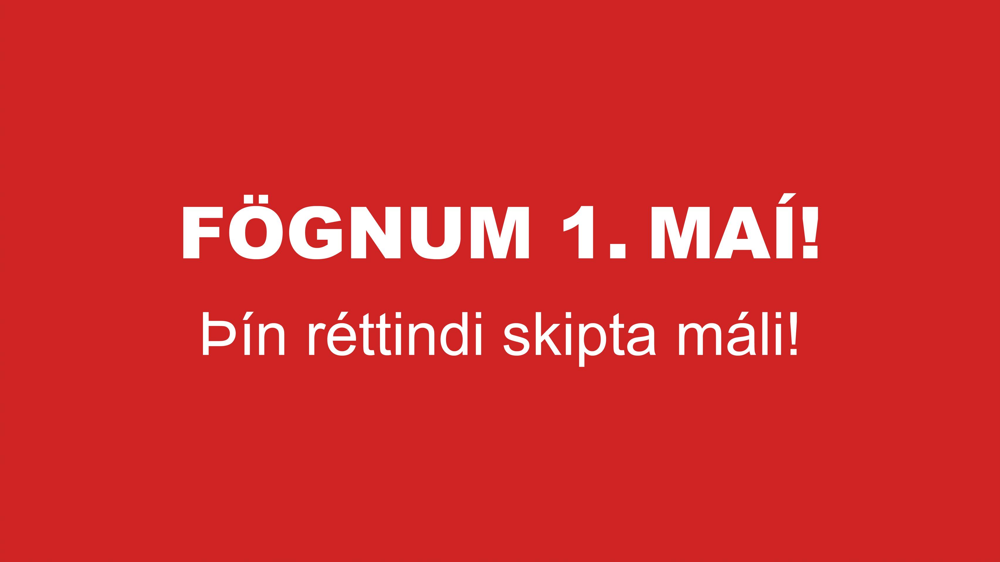 Verkalýðsdagurinn.is